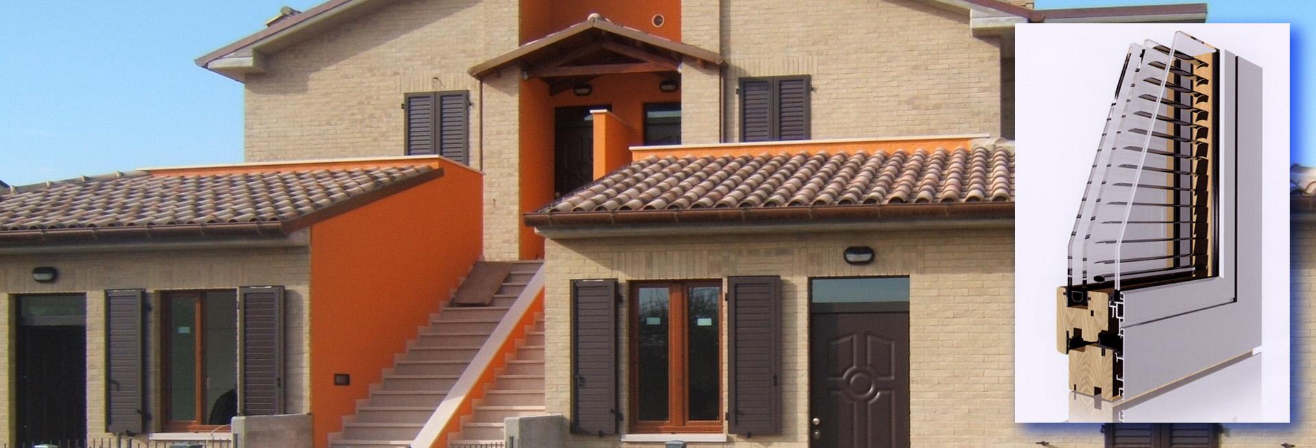 Per una casa importante, una finestra importante. Una finestra in Legno-Alluminio È PER SEMPRE!